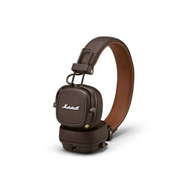 Marshall Major III Kahverengi Kablosuz Bluetooth Kulak Üstü Kulaklik Renkli